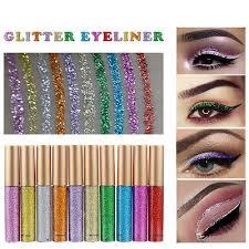 <b>Makeup Shiny Smoky Eyes</b> Eyeshadow Waterproof Glitter Liquid ...