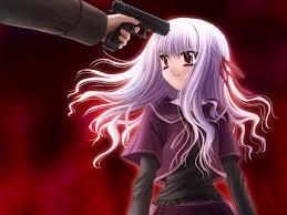 Resultado de imagen para gun in a girls head