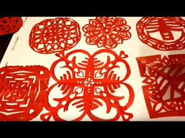 Simple Origami & Paper Cutting - DIY Chinese <b>New Year</b> ...