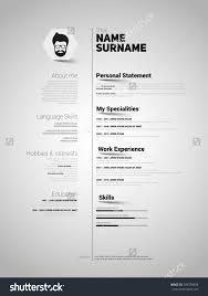 mini st resume template inspiration shopgrat resume sample resources mini st cv resume template simple design vector