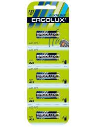 <b>Батарейки A23</b>, LR23, 5шт. Ergolux 8703664 в интернет ...