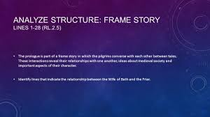 frame story essay essay on the use of frame narrative in the canterbury tales