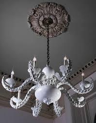 coastal beach house octopus chandelier by adam wallacavage beach house lighting fixtures