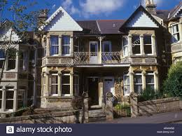 Decorative Windows For Houses Bath Somerset England Edwardian Stone Terrace Houses With Bay
