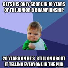 gets his only score in 10 years of the junior b championship 20 ... via Relatably.com
