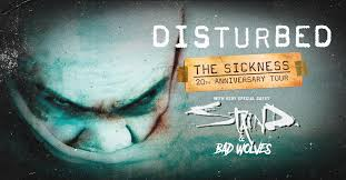 Disturbed Confirm 31-Date <b>The Sickness</b> 20th Anniversary ...