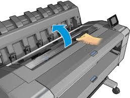 Как заменить <b>печатающую головку</b> в <b>плоттера</b> HP T930, HP T1530?