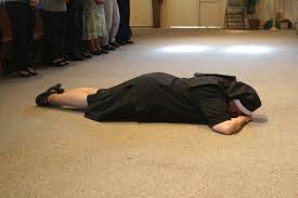 Image result for monk PROSTRATING