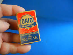 ohio match co box safety wood matches matchbox wadsworth ohio mint ohio match co box safety wood matches matchbox wadsworth ohio mint inspo retro branding packaging woods boxes and