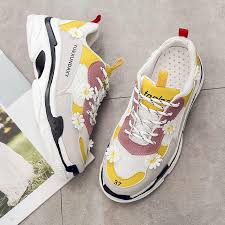 2019 New <b>Fashion Sneakers</b> Brand Women Luxury Chunky ...