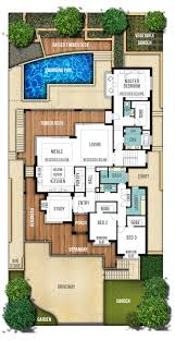 Hamptons Style Home Plans   quot The Hampton quot  Boyd DesignFirst Floor Plan