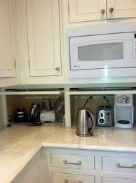 Kitchen Appliances Specialists Garage Door For Kitchen Aid Storage Storage Ideas In And Around