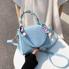 <b>Crocodile Pattern PU Leather</b> Crossbody Bags For Women 2020 ...