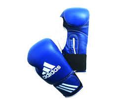 <b>Перчатки</b> боксерские <b>Adidas Response 10oz</b> син/белые: купить ...