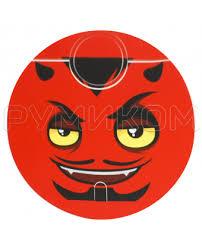<b>Наклейка 015</b> (<b>Devil) на</b> умный пылесос Stickers for Vacuum ...