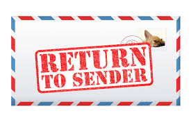 Image result for return to sender