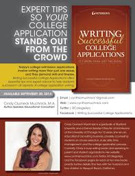 writing successful college aps cynthia muchnick writing successful college applications 093014