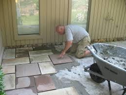 stone patio installation: blue stone patio installation great falls va