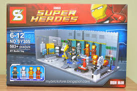 whats inside p well what do you expect from 20 dollar stuff if lego selling this im sure it will be around 40 dollar or more because malibu bootleg iron man 2 starring