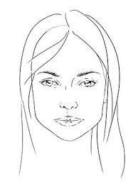 Коррекция <b>формы</b> лица цветом: пошаговое фото цветовой ...