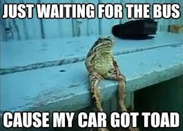 Word Play - my car got toad | Puny jokes | Pinterest | Word Play ... via Relatably.com