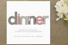 Supper Club on Pinterest | Dinner Party Invitations, Dinner ...