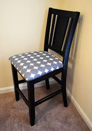 Dining Room Chair Reupholstery Decor How To Re Cover A Dining Room Chair Easy Reupholster Dining