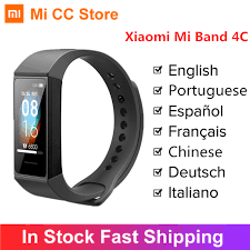 Global Version <b>Xiaomi Redmi Band 4</b> C 4C Smart Wristband Fitness ...