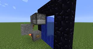 Image result for minecraft portal with blocks