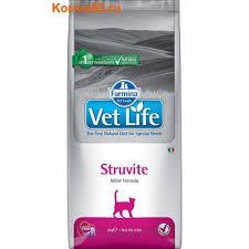 <b>Сухой корм</b> Фармина, <b>Farmina Vet</b> Life Cat Struvite для кошек, для ...