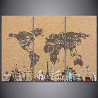<b>Vintage</b> World Map Poster Canada