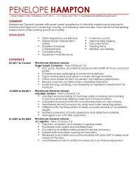 job warehouse jobs resume printable warehouse jobs resume full size