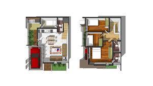 Storey Bedroom House Floor Plan Philippines   v Wall DecalPicture