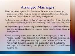 arranged marriage vs love marriage essay  love marriage essay Arranged Marriages Essay  Arranged Marriages  Essay On For Or