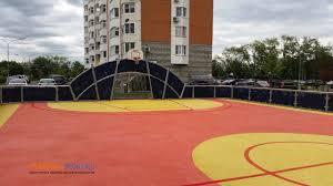 Резиновое <b>покрытие</b> для <b>универсальных</b> спортивных площадок ...