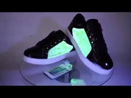 Боковое свечение. <b>LED кроссовки UFO</b>. - YouTube