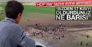Diyarbakır'da HDP'liler taziye evine alınmadı