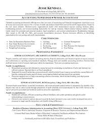 accountant resume templates senior accountant resume samples senior examples of accounting resumes
