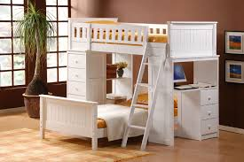 white finish loft bed with drawers desks upper bunk bed and twin bed frame bunk beds desk drawers