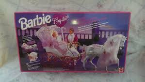 Mattel <b>Barbie Crystal</b> Horse & Carriage 10142 NEW IN <b>BOX</b> for sale ...