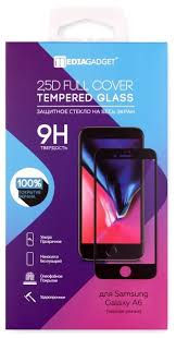 <b>Защитное стекло Media Gadget</b> 2.5D Full Cover Tempered <b>Glass</b> ...