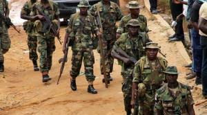 Image result for military on ogoni land pics