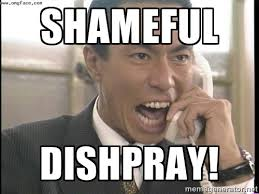 SHAMEFUL DISHPRAY! - Chinese Factory Foreman | Meme Generator via Relatably.com