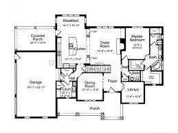 European French Country House Plan   Square Feet and    Level