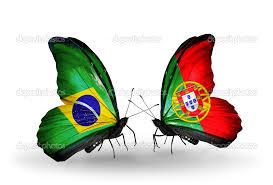 Resultado de imagem para bandeiras brasil portugal