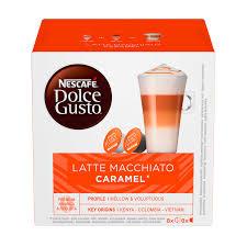 Купить <b>Капсулы NESCAFE</b> Dolce Gusto <b>Latte Macchiato</b> Caramel ...