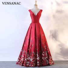 vensanac 2018 v neck lace sequin mermaid long evening dresses eleagant tank sleeveless open back party prom gowns