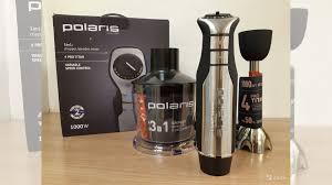 Погружной <b>блендер Polaris PHB 1036</b> AL titan купить в ...
