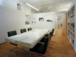 conference room with topo table designed by victoria meyers hanrahan meyers architects hma architectural design office