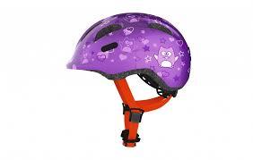 <b>Велошлем</b> детский <b>Abus Smiley</b> 2.0 / Пурпурные звезды купить в ...
